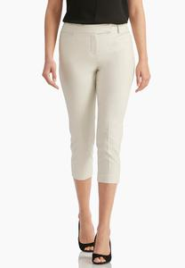 Shape Enhancing Crop Pants