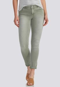 Colored Ankle Skinny Jeans
