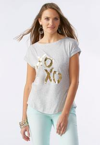 XoXo Graphic Tee-Plus