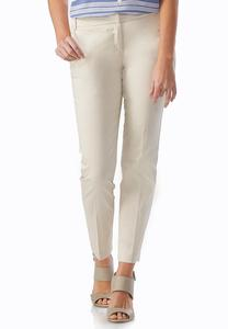 Sateen Ankle Pants
