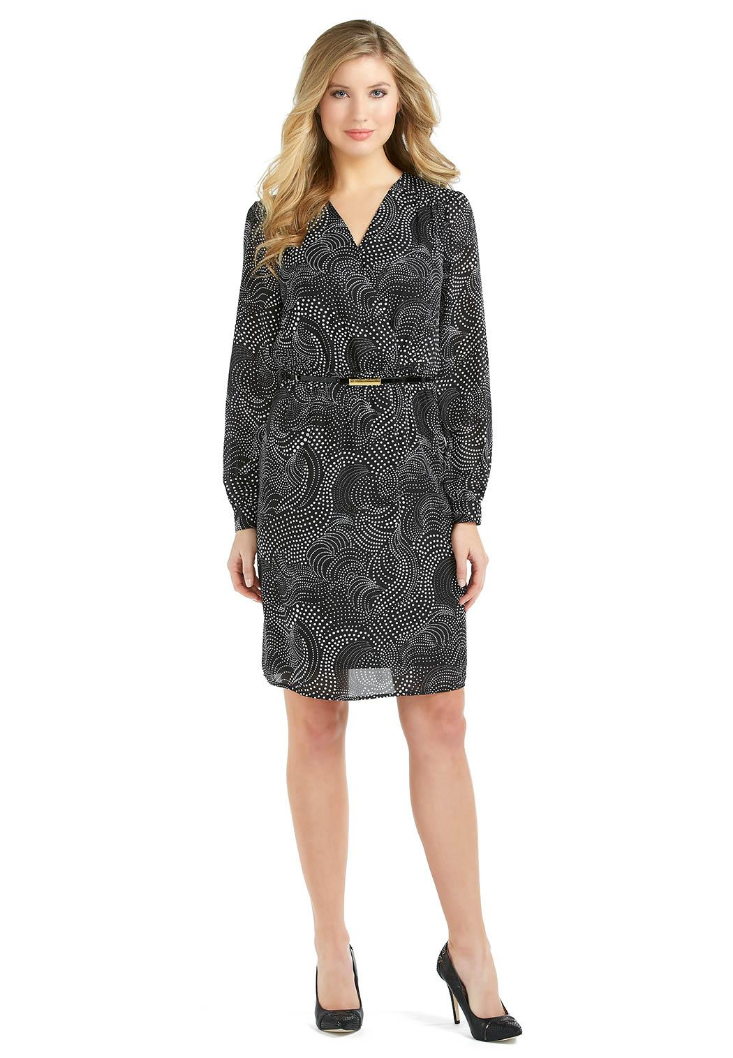 Catofashions.com Faux Wrap Dress