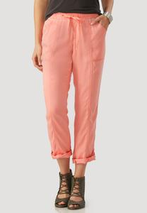 Chambray Utility Ankle Pants
