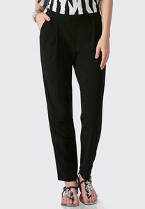 Relaxed Slim Leg Ankle Pants