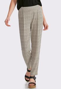 Cuban Ikat Relaxed Ankle Pants