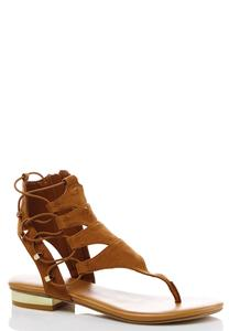 Wide Width Corded Gladiator Sandals