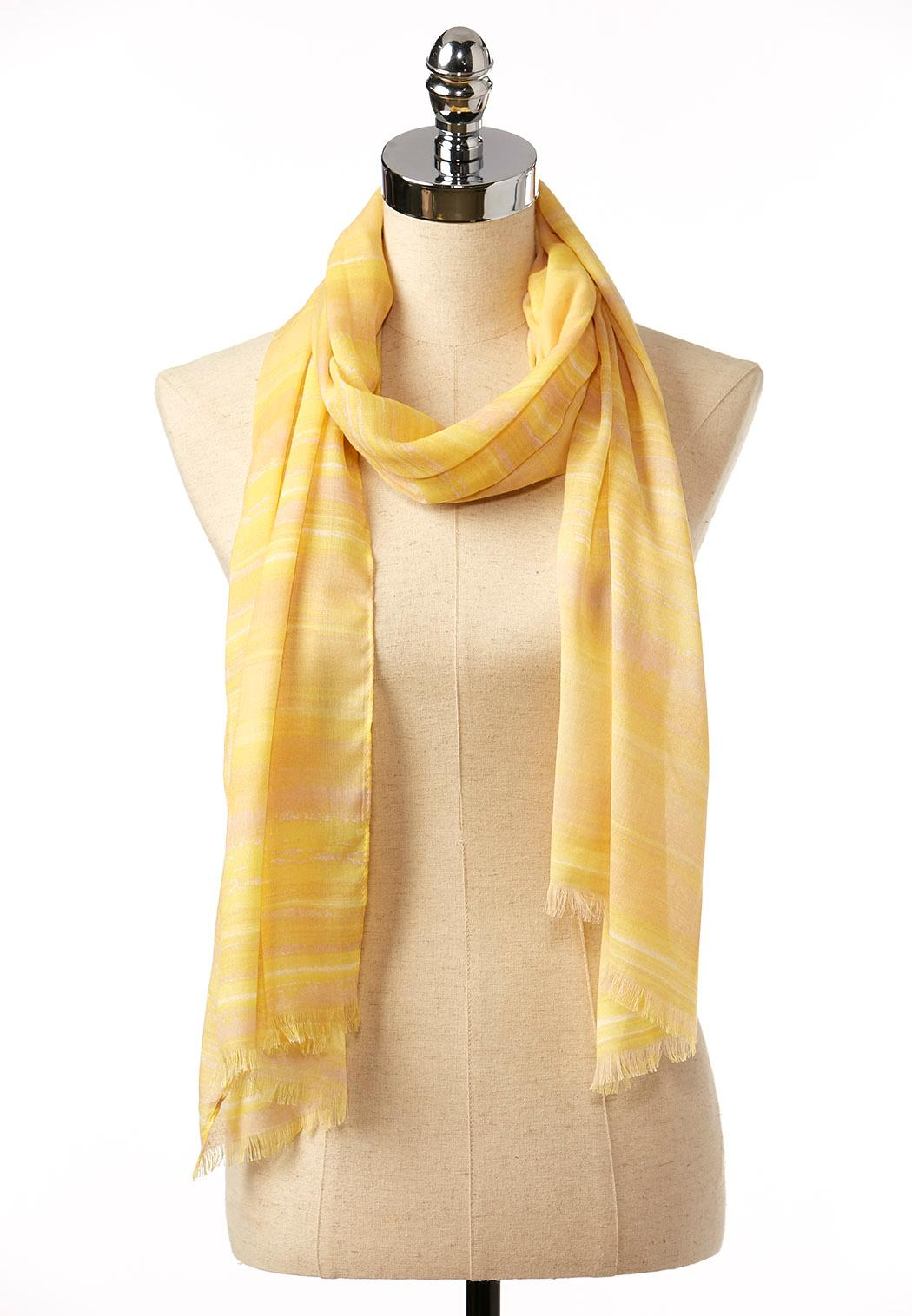 ombre wash oblong scarf oblong cato fashions