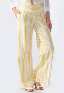 Capri Striped Beach Pants