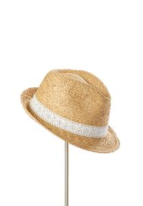 Lace Band Fedora Hat