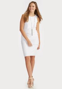 Multi Tiered Sheath Dress-Plus