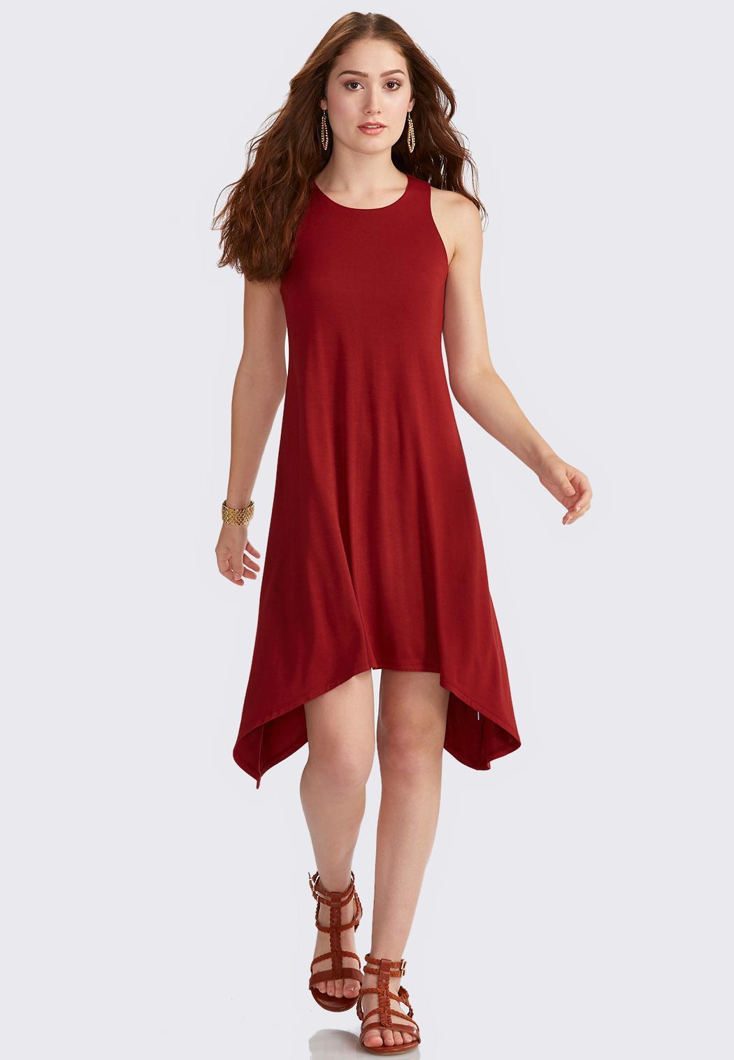 Plus Size Sharkbite Swing Dress Plus Sizes Cato Fashions
