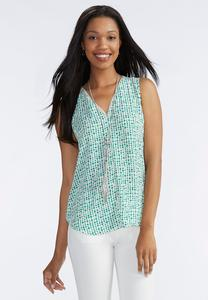 Graphic Dot High-Low Tank