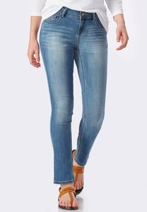 Skinny Ankle Jeans-Petite