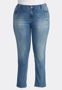 Skinny Ankle Jeans- Plus