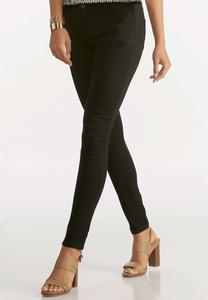 Petite Black Jeggings