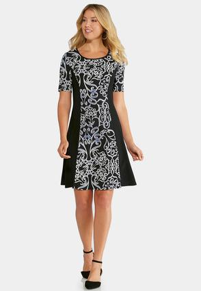 Plus Size A-line and Swing Dresses | Cato Fashions