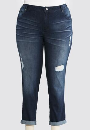 Plus Size Ankle Jeans | Cato Fashions