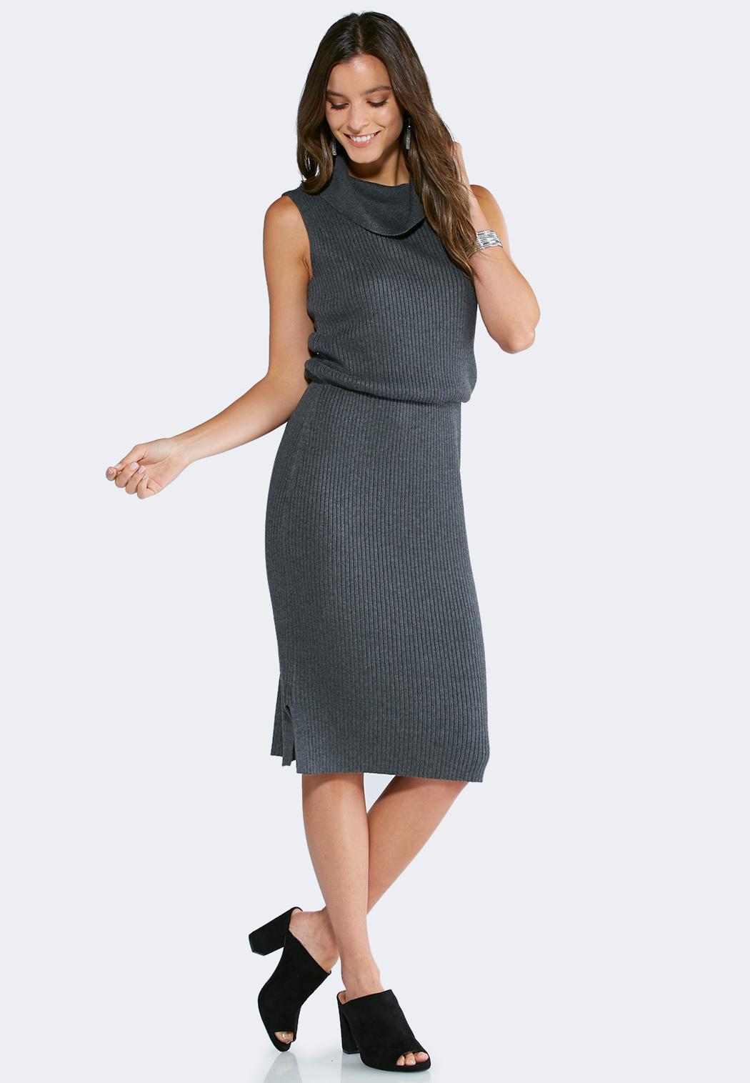 Plus Size Cowl Neck Sweater Dress Plus Sizes Cato Fashions