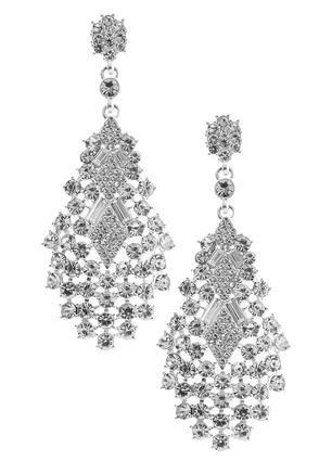 Sparkling Chandelier Earrings | Tuggl