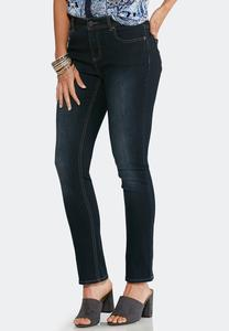 Classic Skinny Ankle Jeans-Petite