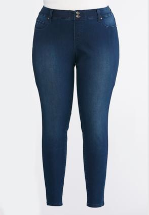 Super Skinny Curvy Jeans- Plus