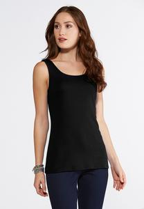 Essential Cotton Tunic Tank