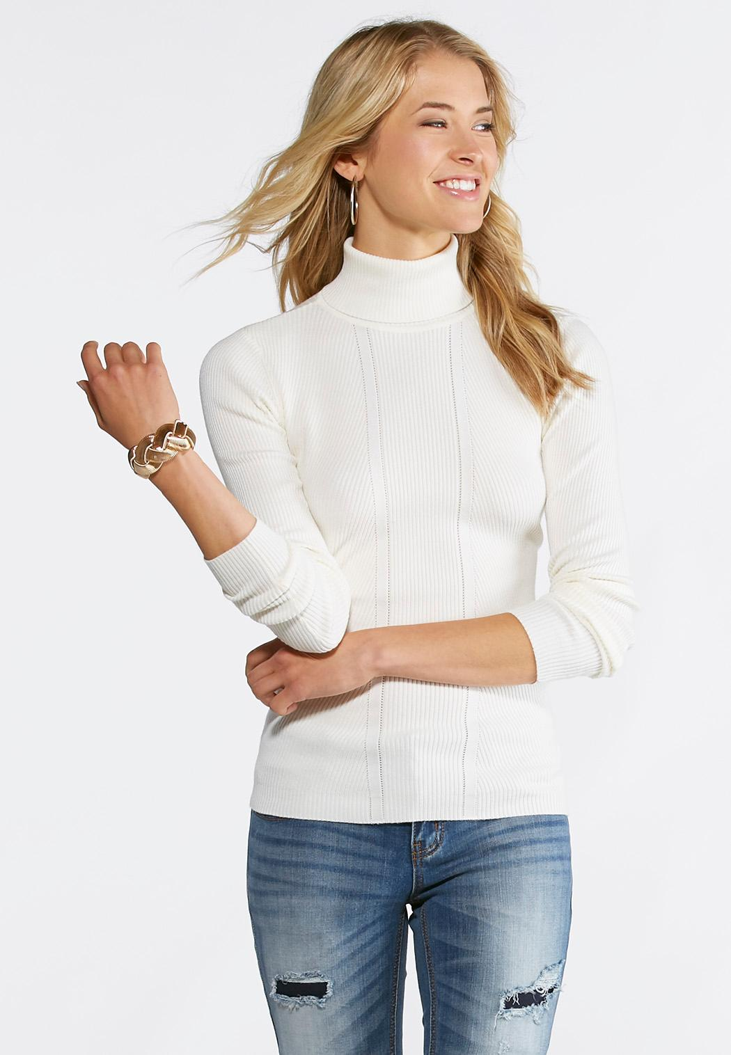 Cato fashions careers - Ribbed Knit Turtleneck Sweater