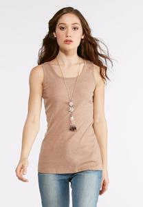 Heathered Tank Top