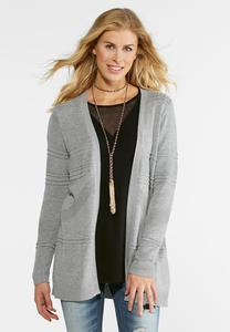 Tonal Cardigan Sweater