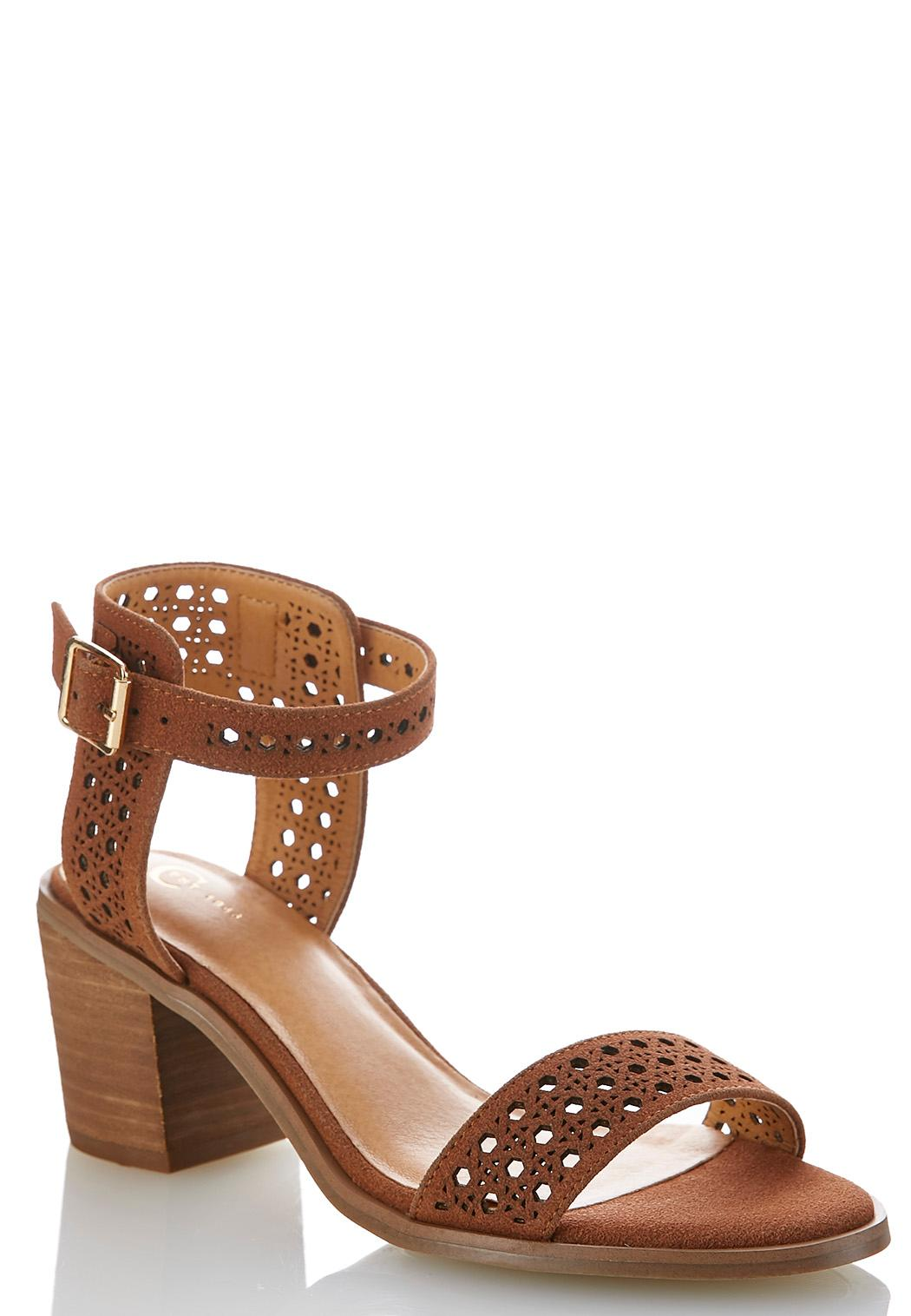 Woven Chunky Heeled Sandals Heels Cato Fashions - What is commercial invoice shoe stores online