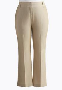 Curvy Fit Trouser Pants- Plus