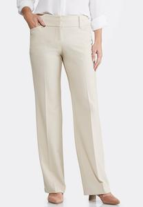 Contemporary Fit Trouser Pants-Petite