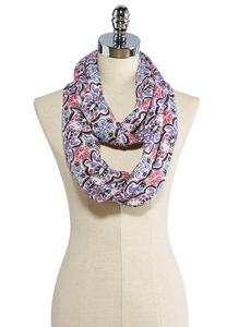 Mosaic Tile Infinity Scarf