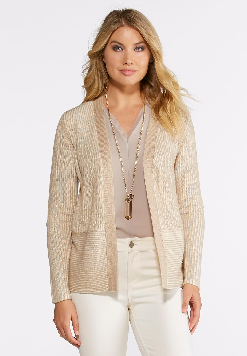 Two-Toned Cardigan Sweater Cardigans & Shrugs Cato Fashions