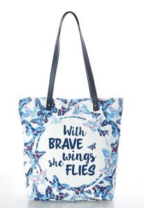 Inspirational Canvas Tote