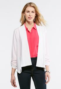 Dressy Crepe Jacket-Plus
