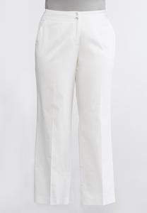 Sateen Trouser Pants-Plus