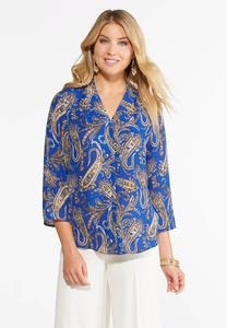 women's plus size shirts & blouses