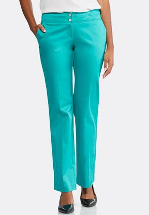 Sateen Trouser Pants-Petite | Tuggl