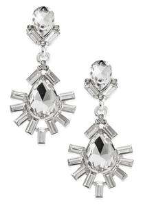 Dangling Lash Tear Statement Earrings