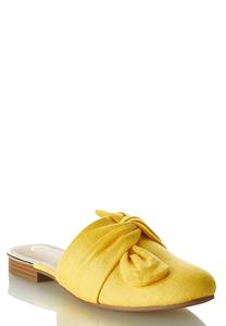 Slip-On Canvas Mules