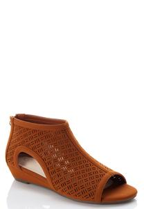 Laser Cut Low Wedges