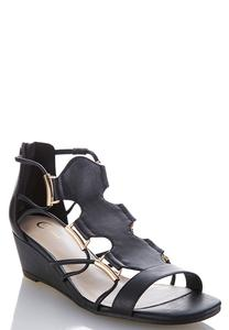 Stretch Band Gladiator Sandals