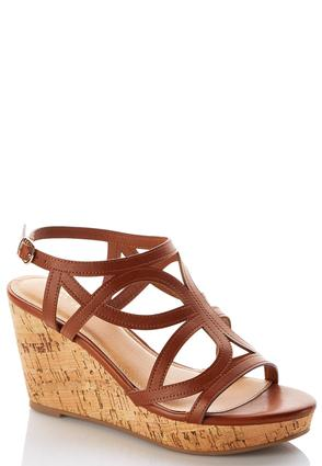 Cutout Strap Platform Wedges at Cato in Brooklyn, NY | Tuggl