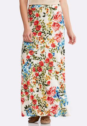 Botanical Bliss Maxi Skirt