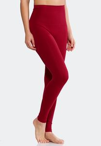 The Perfect Red Plum Leggings