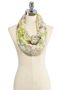 Blooming Floral Infinity Scarf