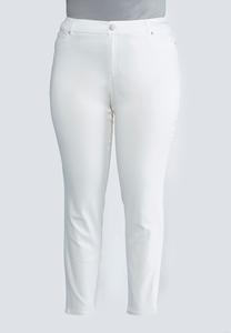 Plus Size Colored Jeggings