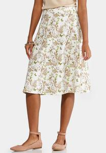 Woodland Bloom A-Line Skirt