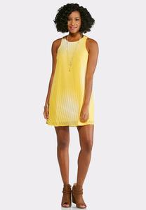 Plus Size Sunshine Ombre Swing Dress