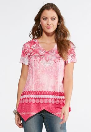 Embellished Moroccan Paisley Top